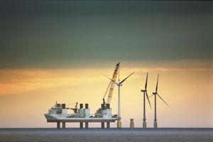 Construction of Barrow Offshore Windfarm