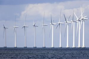Off-shore wind farm