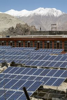 Solar photo-voltaic powerplant, Ladakh Ecological Development Group